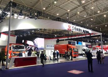 """东风汽车在""""五化""""技术引领下将打造城市智慧物流生态圈"""