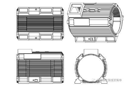 电机壳消失模铸造工艺及方案