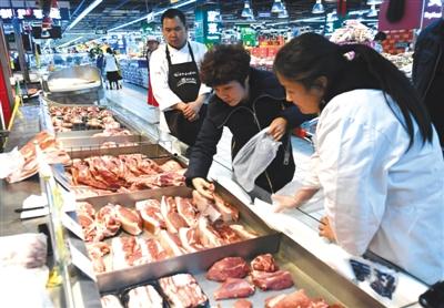 猪肉价格在11月出现下跌,猪肉批发平均价20天下降7元多