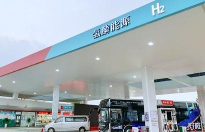 西上海油氢合建站和安智油氢合建站试运营