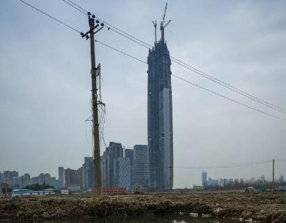 武汉绿地中心停工,绿地控股超高层建筑扩张策略迎来考验