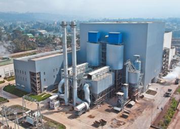 莱比垃圾发电厂日处理垃圾1800吨,年发电量达1.85亿千瓦时