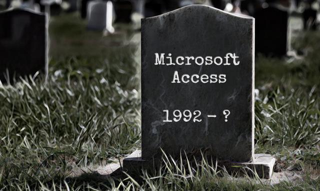 为何说Access是拥有不死之身的数据库?