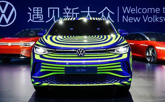上汽大众新能源工厂在上海安亭宣布落成