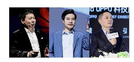 手机教父生于1969:华为余承东、小米雷军、OPPO陈明永