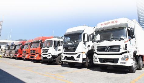東風商用車搶灘國六市場,提升深圳的載貨車市場份額