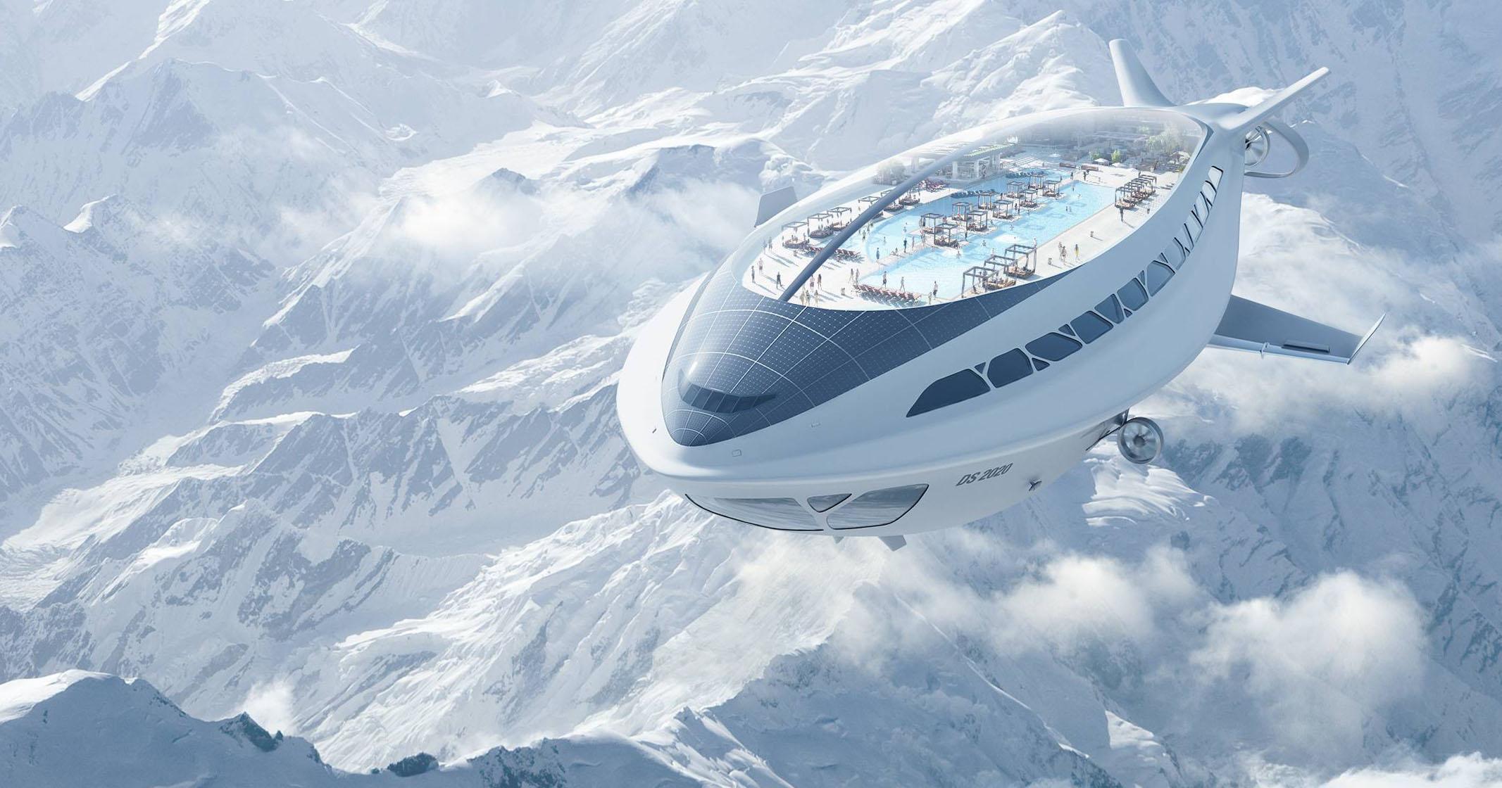 人类应该重新启用飞艇,飞艇比飞机安静很多