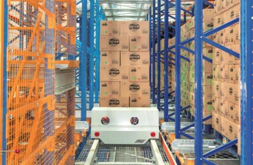 百事食品武汉分厂子母穿梭式自动仓库改造升级