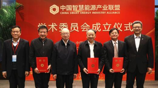 中国智慧能源产业联盟学术委员会在京成立