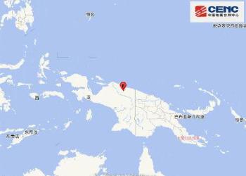 印尼6.0级地震,震源深度40千米