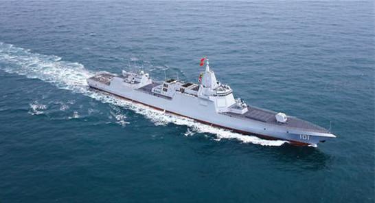 055型导弹驱逐舰,世界最先进的,新东西是最多的