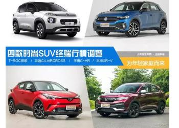 四款小型SUV市场终端行情调查