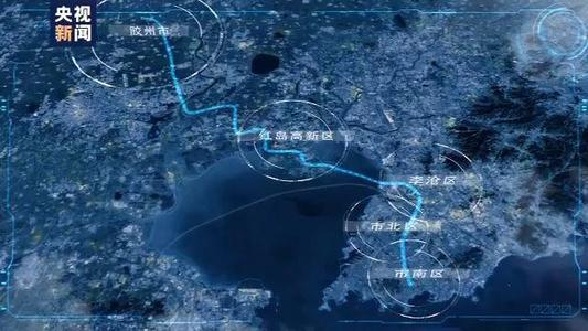 最长过海地铁隧道,青岛地铁8号线过海5.4公里