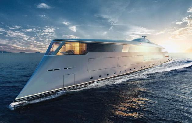 世界上第一艘氫動力游艇,只排放水,絕對環保,時速17海里