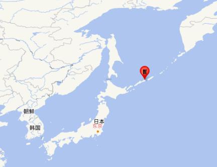 千岛群岛发生7.0级地震,震源深度150公里