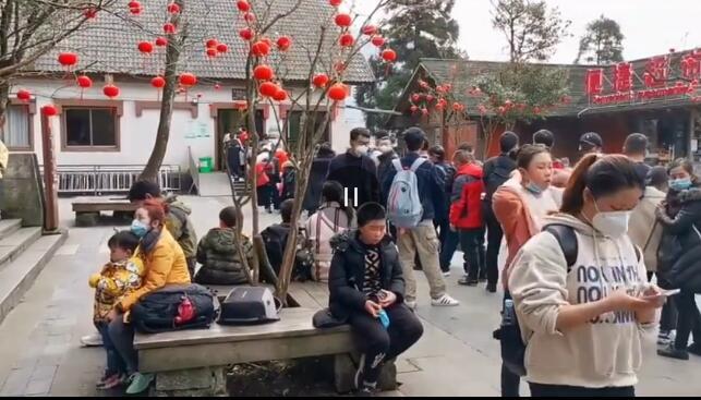 江西萍乡武功山游客爆满发紧急通告,大量游客聚集武功山景区