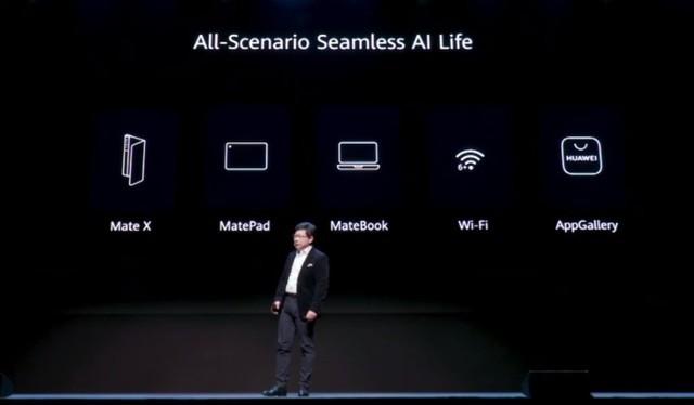 华为发布会,多款新产品Mate Xs、MateBook X Pro、MatePad Pro、WiFi
