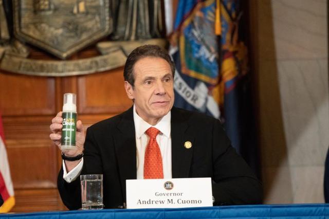 纽约州启用囚犯生产洗手液 以应对新冠肺炎疫情导致的物资短缺