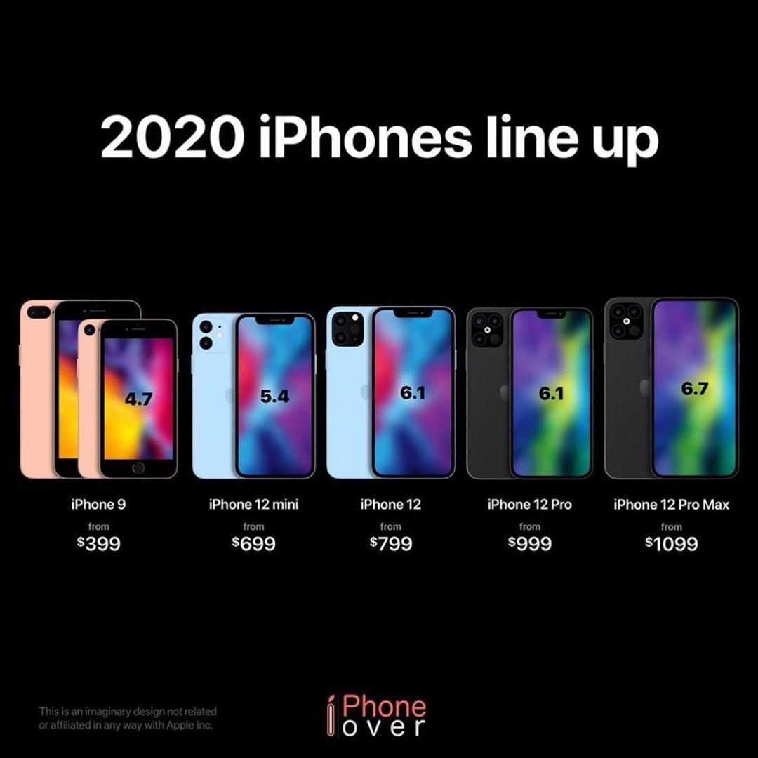 2020年苹果新产品推出,华为荣耀30S首款产品正式发布