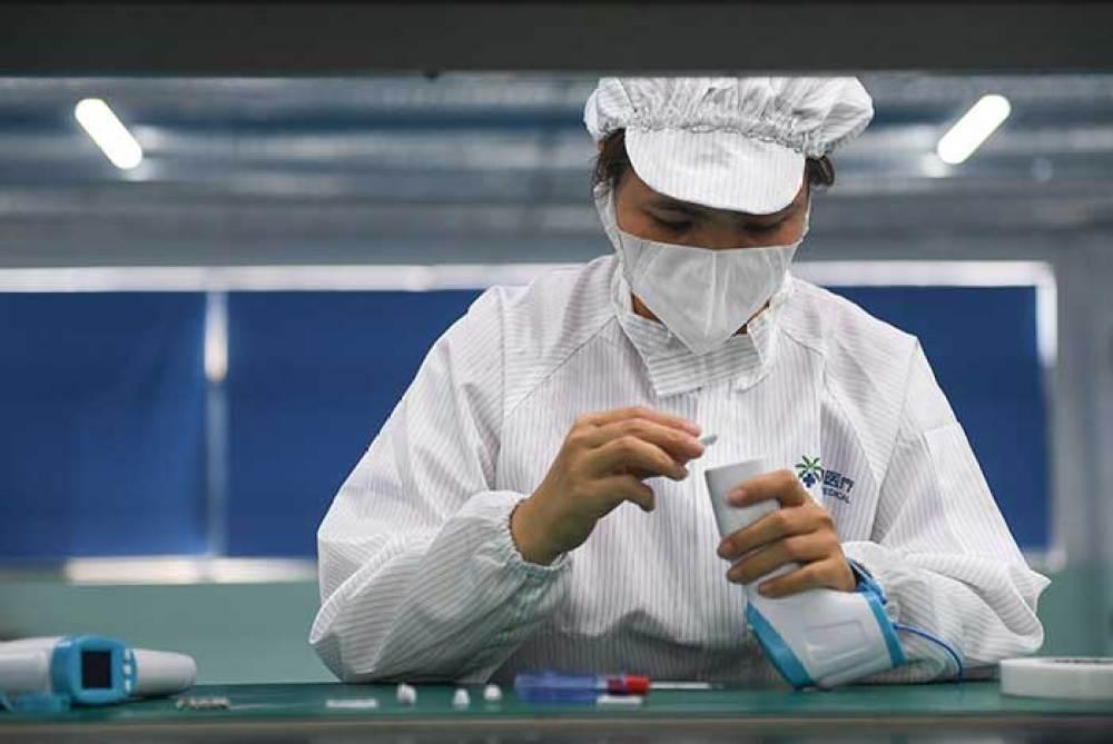 海椰医疗加足马力生产疫情物资,为抗疫添拆加瓦