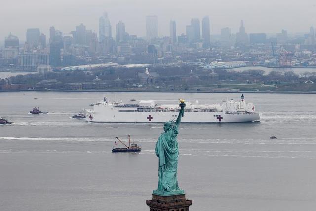 美国疫情4月9日最新消息:累计确诊423135例,纽约州确诊149316例