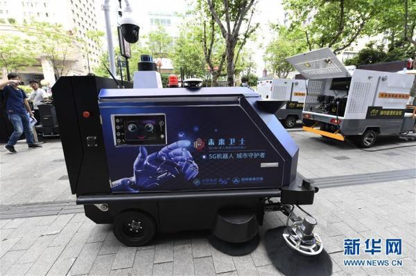 杭州首个精细化城市管理,开车巡查顺便扫地,热水高压水枪除污