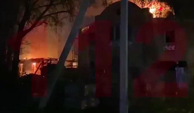 莫斯科疗养院发生火灾,已造成10人死亡,有20人自行逃出