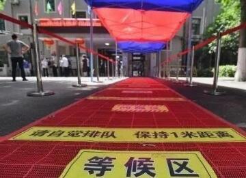 武汉初三复学学生间隔一米入校,每个教室人数限制在20人左右