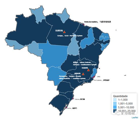 巴西疫情:影响VALE铁矿石出口,中国进口持续偏低