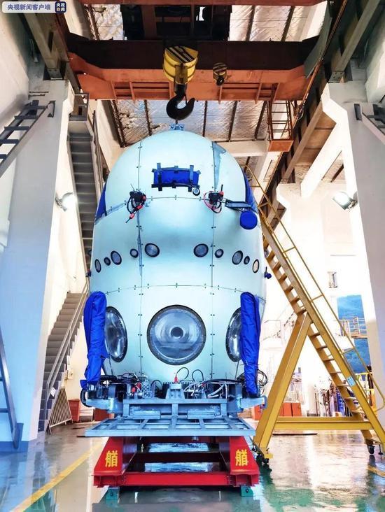 万米载人潜水器,覆盖全球海洋100%海域的作业能力