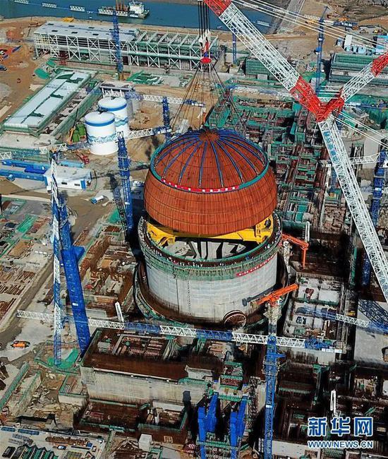 核燃料充电宝,福清核电5号机组将迎来并网发电,投产运行