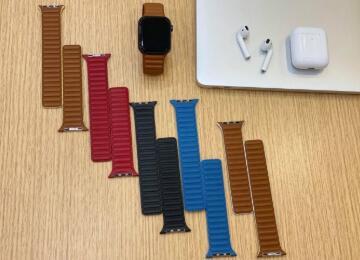 苹果为Apple Watch重新设计皮质回扣表带,最快或将在下月推出