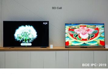 京东方65英寸BD Cell显示屏荣获2020年度最佳显示产品奖