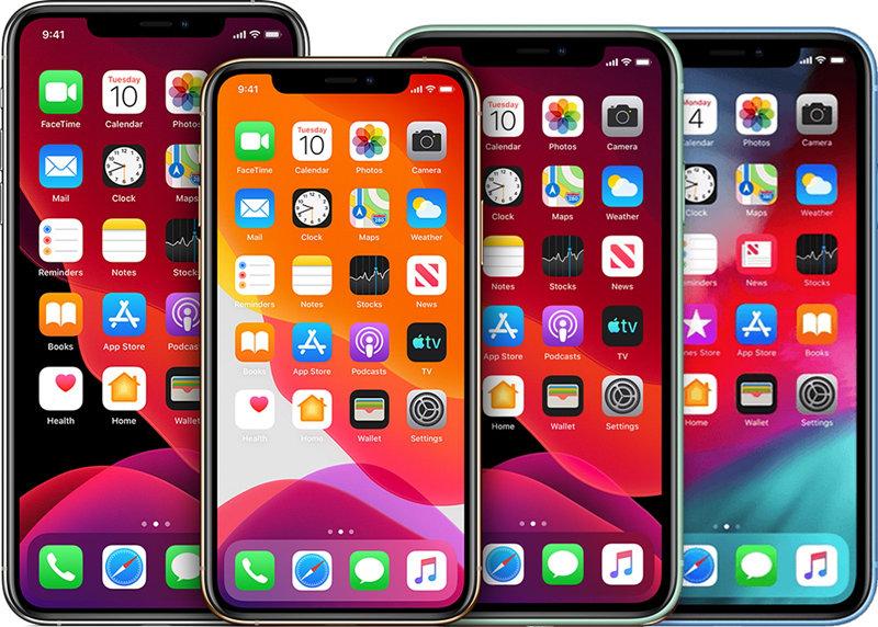 10月推出四款新的iPhone型号,推出的全OLED分辨率和功能