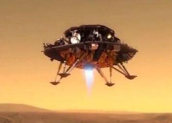 """中国火星探测器""""绕落巡""""细节曝光:探测器减速过程要用7-8分钟"""