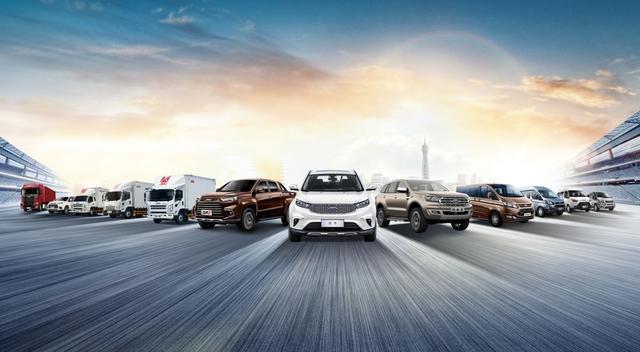 江铃汽车2020年5月终端销量达30008台,同比增长22.1%
