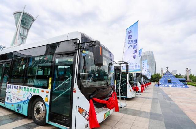 潍坊打造氢能城市,潍柴氢燃料电池公交车得到好评
