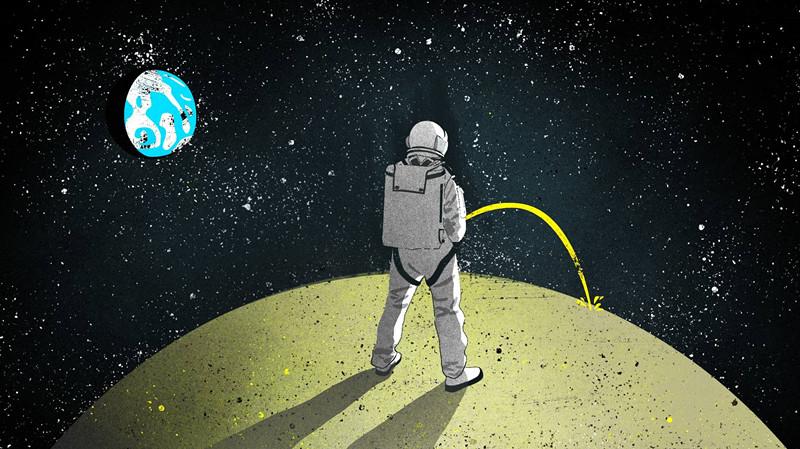 建造月球基地的新材料,尿液可能不够用