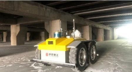 中信重工研发的槽底巡检机器人应用于电解铝行业
