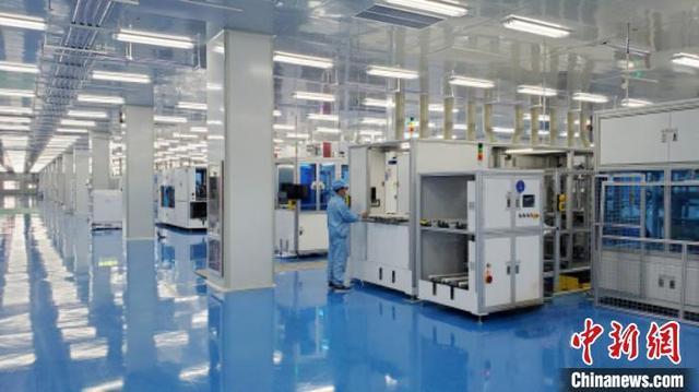 中国首条量产规模IBC电池及组件生产线电池量产平均效率突破23.6%