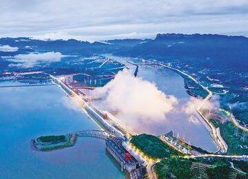 长江干流四座梯级电站82台机组实现2020年首次全开运行