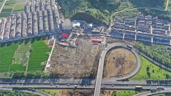 再访爆炸后的浙江温岭大溪镇良山村