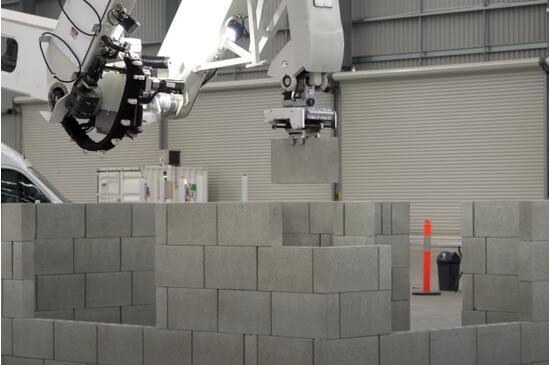 砌墻機器人一小時砌磚200塊,再不努力,搬磚都要失業了!