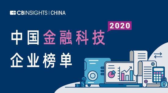 ?CB Insights中國金融科技50強榜單發布:螞蟻、騰訊、京東數科等在列