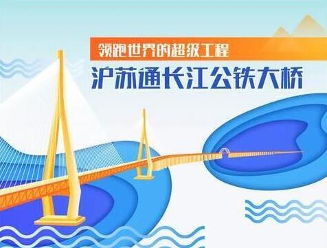 沪苏通长江公铁大桥——领跑世界的超级工程【图说】