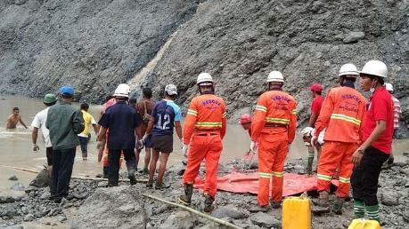 缅甸玉石矿塌陷162人遇难,事故发地为世界最大的玉矿所在地