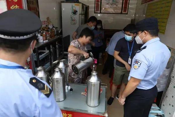 广州一些凉茶经营者非法在凉茶里添加西药,11家凉茶店铺被查处