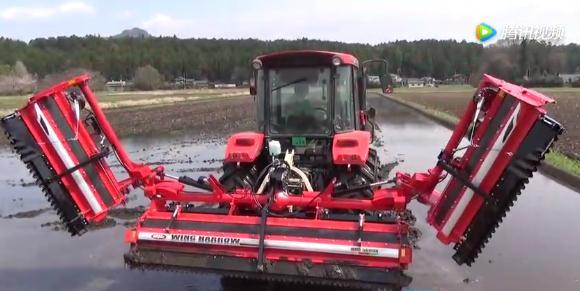 新型可折叠、超长作业幅宽水田打浆机研制成功,提升我国农机国际竞争力