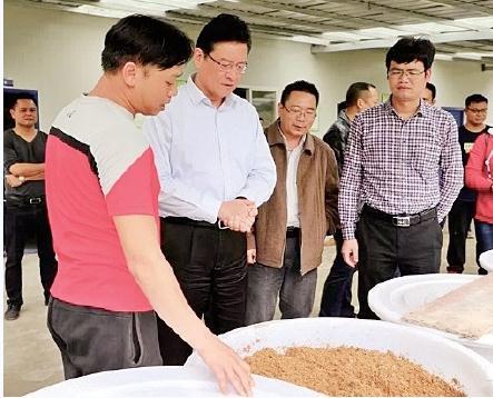 柳州市螺螄養殖面積超過4萬畝,為柳州螺螄粉產業提供原料保障