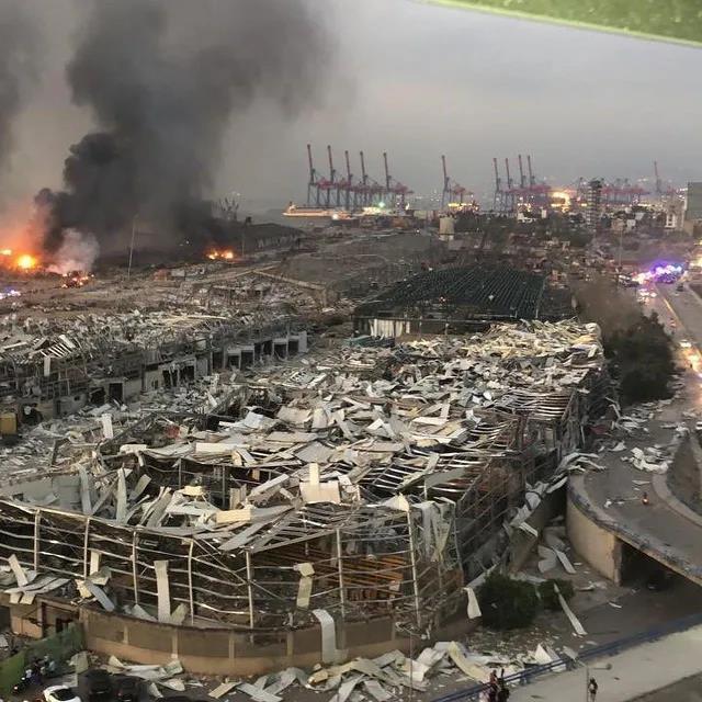 可怕!黎巴嫩大爆炸遇难人数升至100名!是天灾还是人祸?